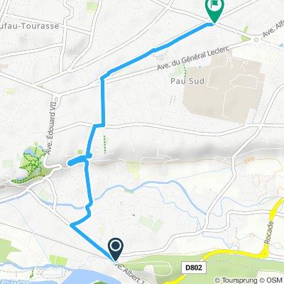 Itinéraire modéré en Pau