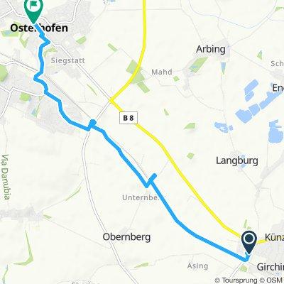Entspannende Route in Osterhofen
