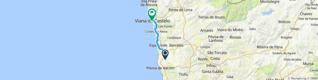 Sao Felix to Viana Do Castelo, Day 2