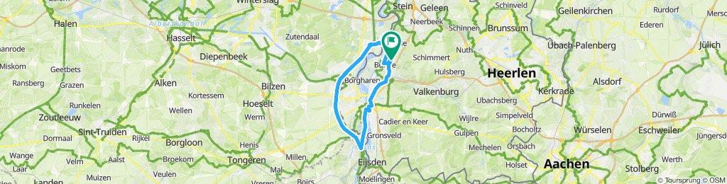 Round trip to Belgium