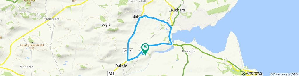 Easy ride in St Andrews