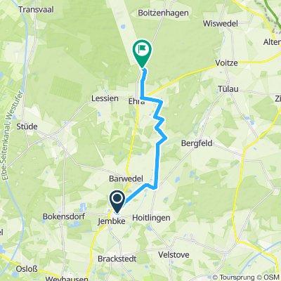 Gemütliche Route in Jembke