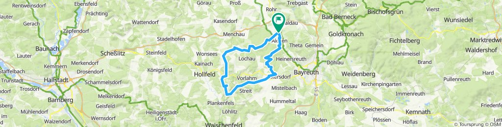 Lochautal Runde von Neudrossenfeld