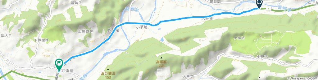 寧靜的路線 新埔鎮