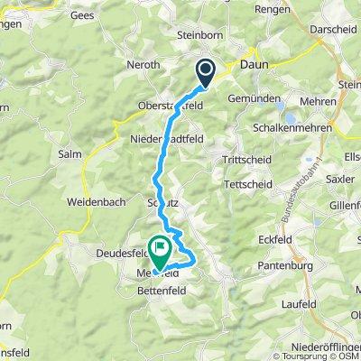 Route Daun/ Meerfeld