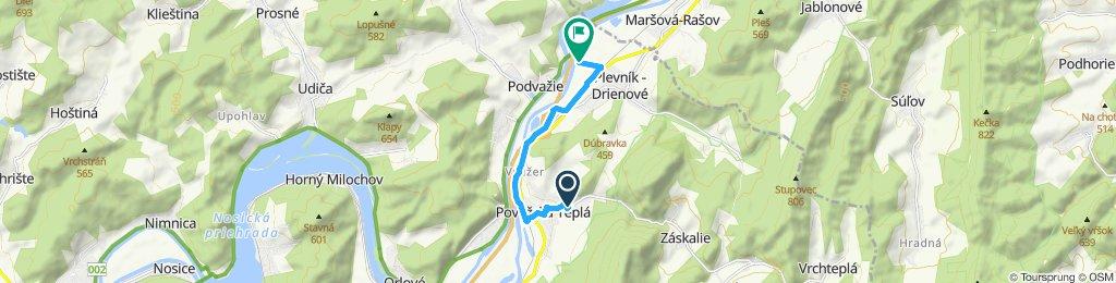 Restful route in Plevník - Drienové