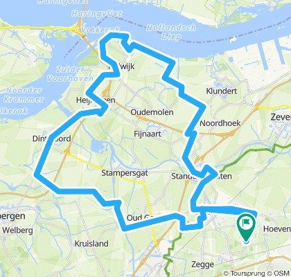 Wereldfietser weekend, 65 km