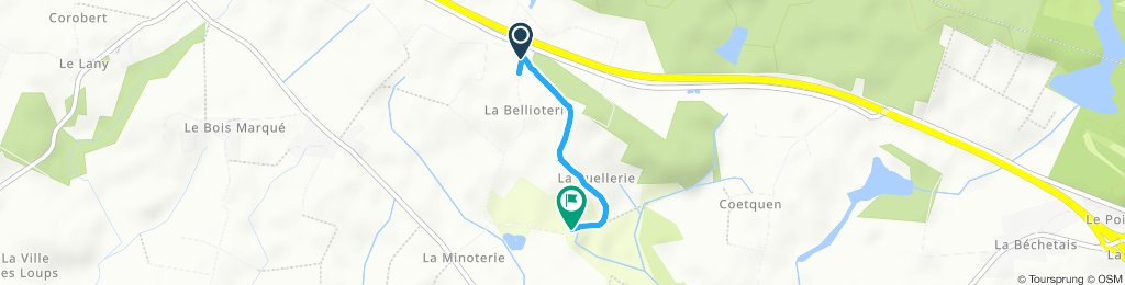 Itinéraire sportif en Missillac