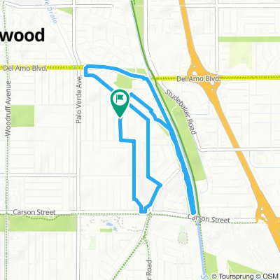 Supersonic route in Lakewood