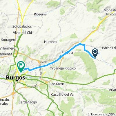Itinéraire confortable en Atapuerca
