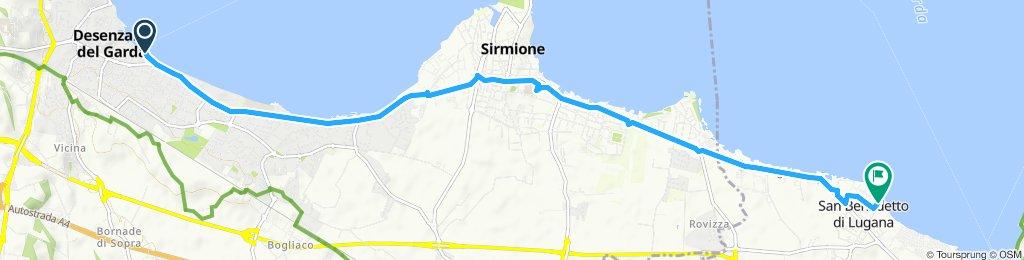 Itinéraire modéré en Peschiera del Garda