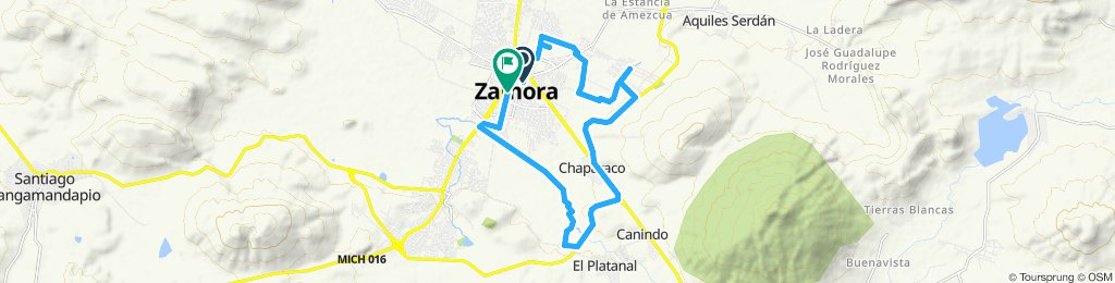 Ruta tranquila en Zamora