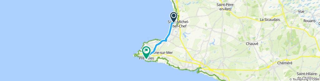 Voyage rapide St Michel - Préfailles
