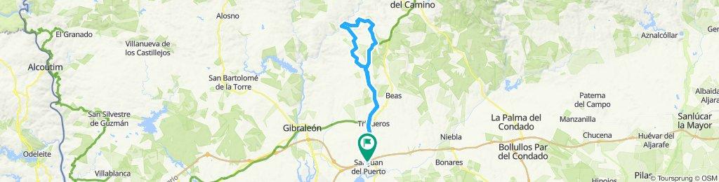 San Juan del Puerto Radfahren
