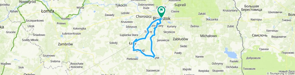 🇵🇱 Białystok - Suraż (88km)