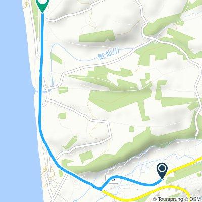 Moderate route in Date-Shi