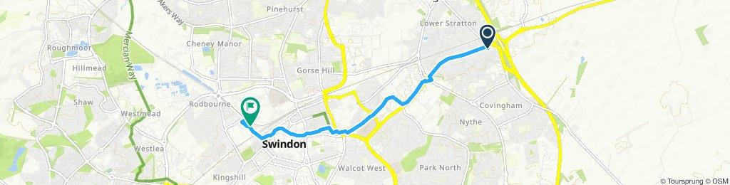 White Heart to Designer Outlet Swindon