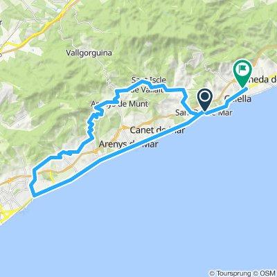Sant Pol de Mar Cycling