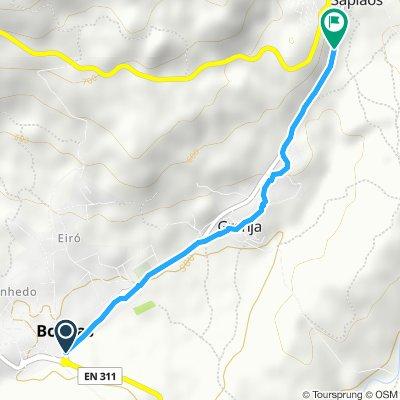 Easy ride in Boticas