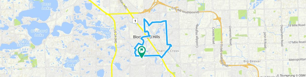 Blistering ride in Bloomfield Hills