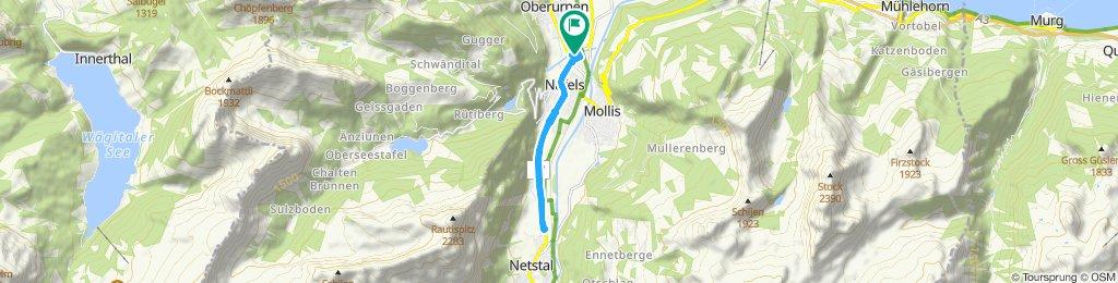 Percorso rilassato in Näfels