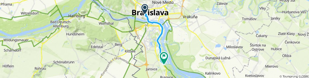 Jednoduchá jazda Bratislava