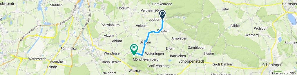 Gemütliche Route in Dettum