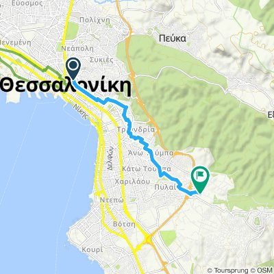 7 Thessaloniki Meteamorfosis Bikemap Your Bike Routes