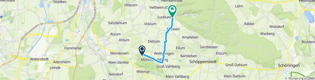 Entspannende Route in Erkerode