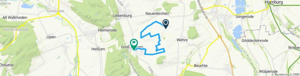 Entspannende Route in Liebenburg