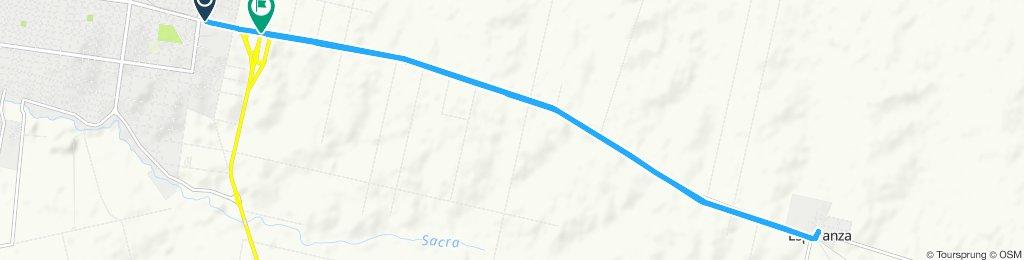 Sporty route in Sección 01