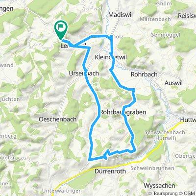 Linde-Kleindietwil-Rohrbachgraben-Kaltenegg-Walerswil-Linde