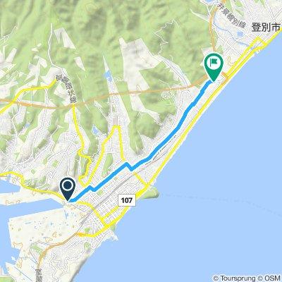Steady ride in Noboribetsu-Shi