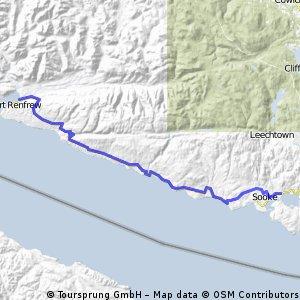 Day 015 Port Renfrew to Sooke, BC