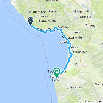 SF to LA Day 2 - 77 miles