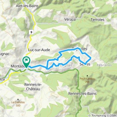 Circuit 31: Couiza (Blue) 18km
