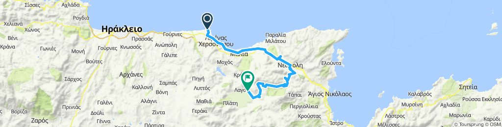 Part 1: Chersonissos, Malia, Neapoli, Lasithi-Hochebene, Tzermiado