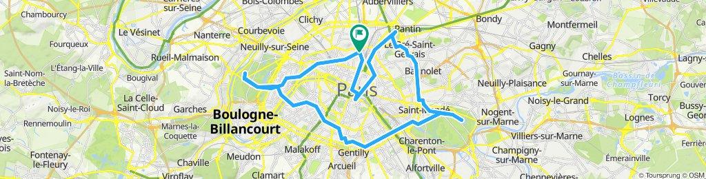 Entraînement Paris Londres dimanche 22 09 2019