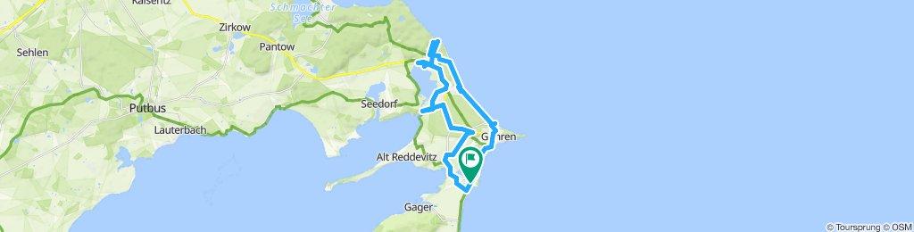 Moderate Route in Middelhagen