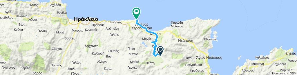 Part 2: Lasithiou Hochebene, Tzermiado, Malia, Chersonissos