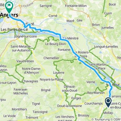 Saumur - Angers