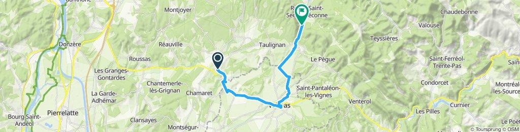 Itinéraire modéré en Grignan