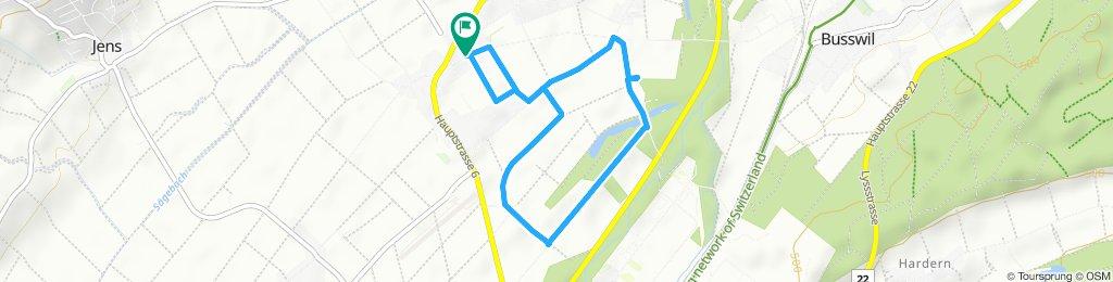 Entspannende Route in Worben 20.9.2019