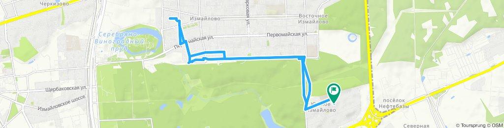 Пятничные велоездки короткие по Измайлово 20 09 2019