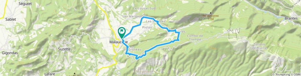 Kappelen Wanderung am Mont Ventoux
