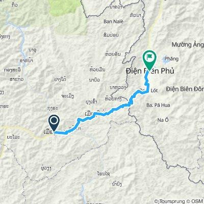 Day 10- Cross in to Vietnam. Munag Khua to Dien Bien Phu