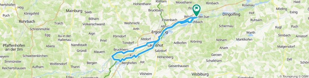 Wörth-Piflas-Flutmulde-Münchnerau-Bruckbergerau-Volkmannsdorf-Moosburger_Stausee-Forster_am_See-Viecht-LA-Piflas-Wörth