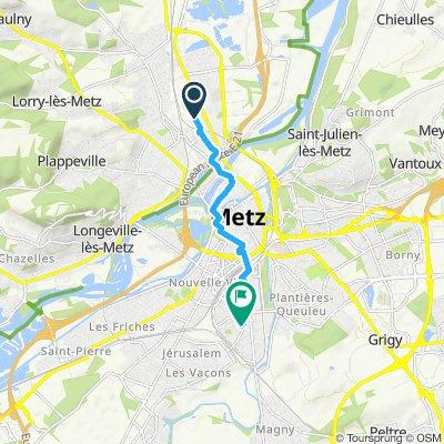 Voyage meurtrier dans Metz