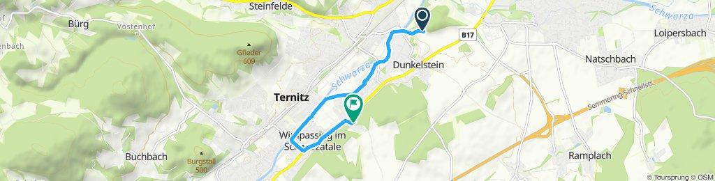 Einfache Fahrt in Neunkirchen