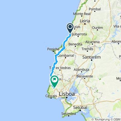 Nazaré a Sintra